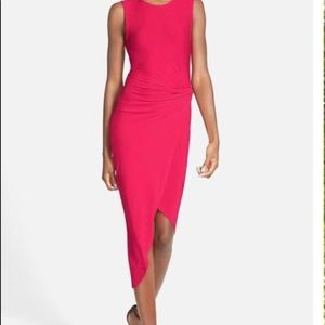ASTR knotted bodycon dress